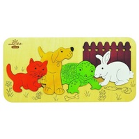 Andzee - Pet Animals Raised Puzzle 7pc