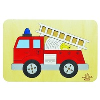 Andzee - Red Fire Truck Puzzle 20pc