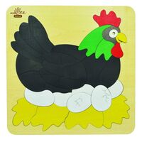Andzee - Chicken & Egg Double Layered Puzzle