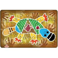 Andzee - Aboriginal Art Platypus Puzzle 24pc