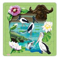 Andzee - Kakadu Wetlands Puzzle 16pc