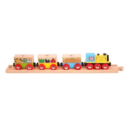 Bigjigs - Fruit & Veg Train