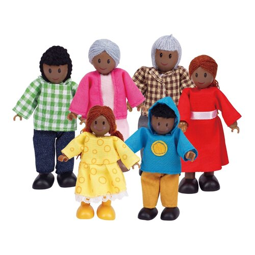 Hape - African Doll Family