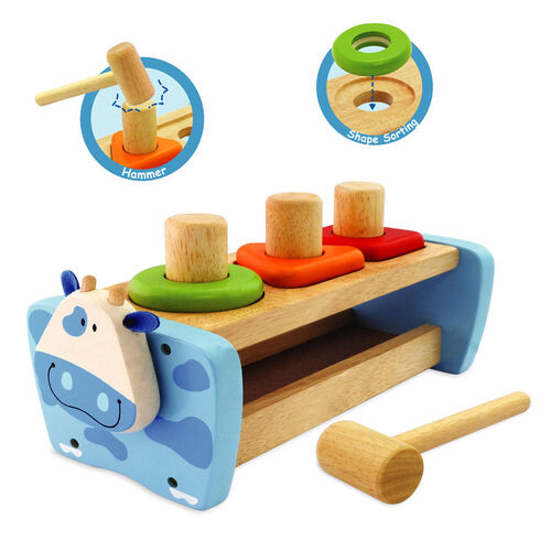 Buy Im Toy Cow Hammer And Peg Bench