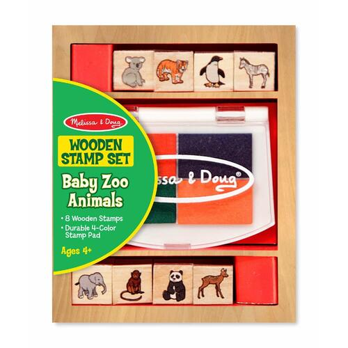Melissa & Doug - Baby Zoo Animals Stamp Set