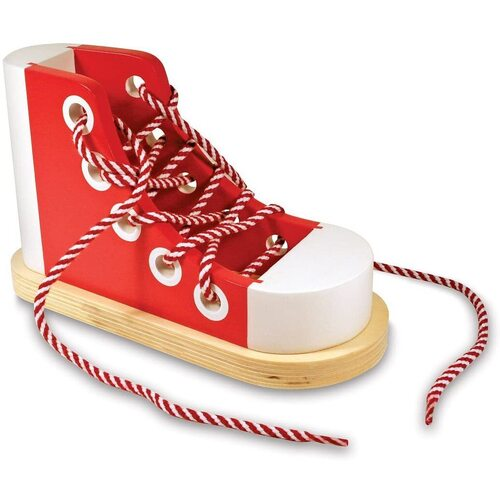 Melissa & Doug - Wooden Lacing Sneaker