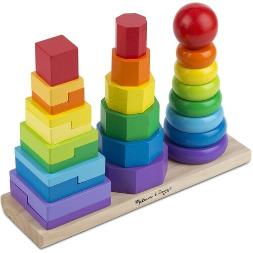 Melissa & Doug - Geometric Stacker