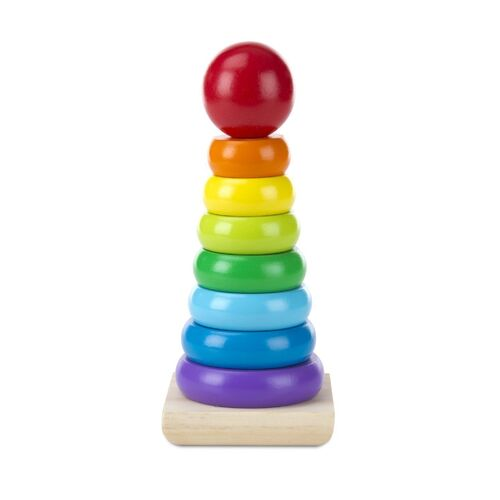 Melissa & Doug - Rainbow Stacker