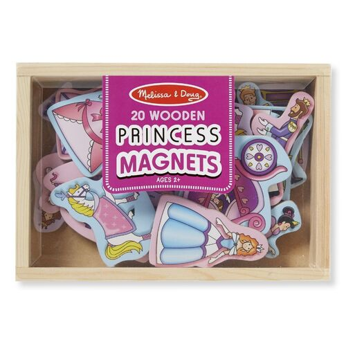 Melissa & Doug - Princess Magnets - 20pc