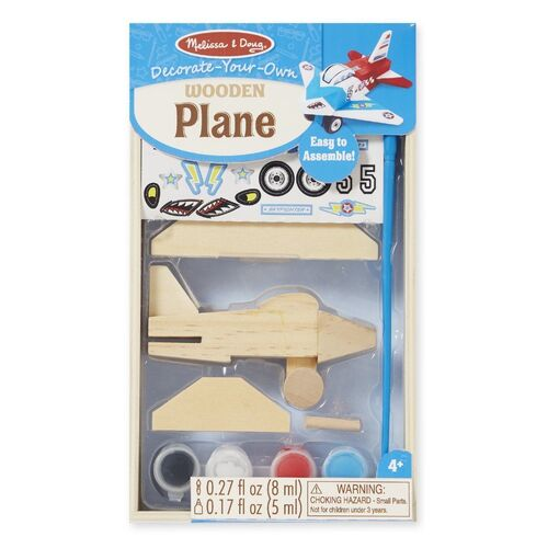 Melissa & Doug - Decorate-Your-Own Wooden Plane