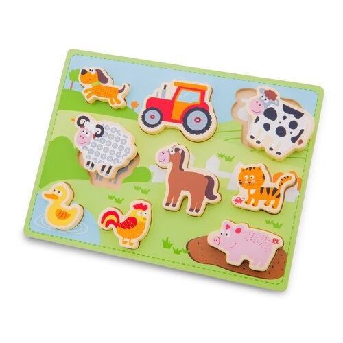New Classic Toys - Farm Puzzle 9pc