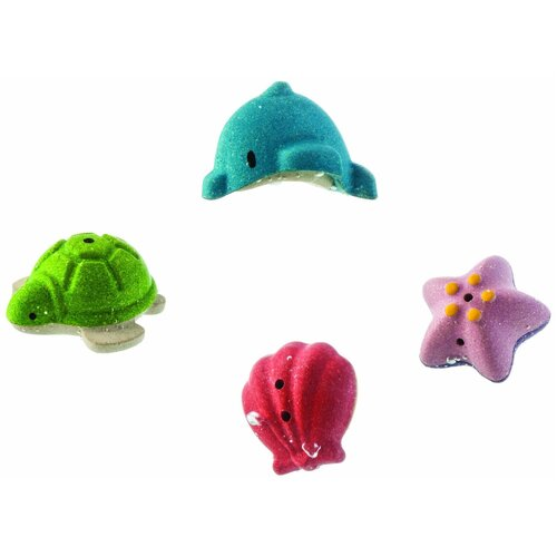 PlanToys - Sea Life Bath Set