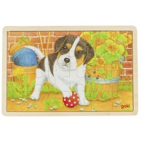 GOKI - Little Dog Puzzle 24pc