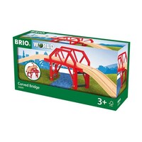 BRIO - Curved Bridge (4 pieces)