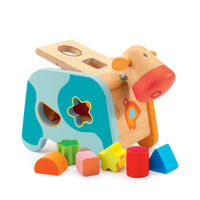 Djeco - Maggy Shape Sorting Cow