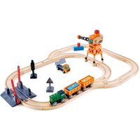 Hape - Crossing & Crane Set