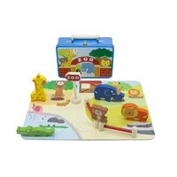 Kaper Kidz - Zoo Playset in Tin Case