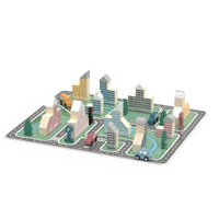 Viga Toys - Modern City Blocks